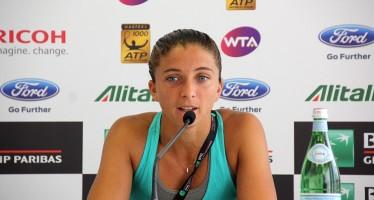 """INTERNAZIONALI BNL d'ITALIA – Sara Errani : """"Sentivo che lei era più potente di me"""""""