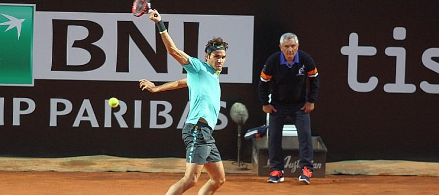 INTERNAZIONALI BNL d'ITALIA : Roger Federer si ripete contro Cuevas