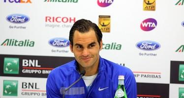 """INTERNAZIONALI BNL d'ITALIA – Roger Federer """"Rafa resta sempre il favorito"""""""
