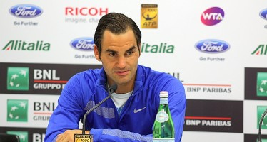 "INTERNAZIONALI BNL d'ITALIA – Roger Federer ""Novak oggi era solido come una roccia"""