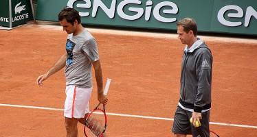 ROLAND GARROS : Federer si allena