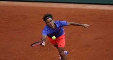 ROLAND GARROS: Roger Federer live, secondo set