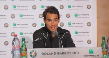 """ROLAND GARROS : Fabio Fognini """"Ci ho provato, ma non stavo bene"""""""