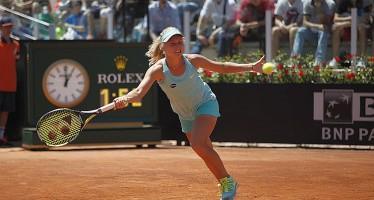 INTERNAZIONALI BNL d'ITALIA :Daria Gavrilova annulla 3 match-points ed elimina Ana Ivanovic
