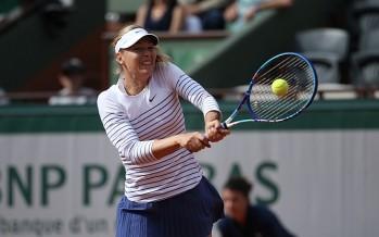 ROLAND GARROS: Sharapova sul velluto. Tutto facile anche per Stosur e Lisicki