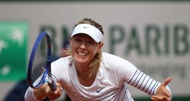 ROLAND GARROS: Maria Sharapova out! La russa cade sotto i colpi di Lucie Safarova
