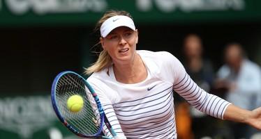 Maria Sharapova di nuovo in campo il 26 aprile