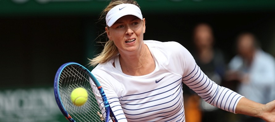 ROLAND GARROS: Maria Sharapova vola agli ottavi. Bene anche Ivanovic e Safarova