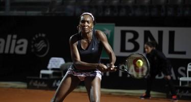 INTERNAZIONALI BNL d'ITALIA : Venus Williams azzera Katerina Siniakova