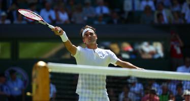 WIMBLEDON : Roger Federer sul velluto