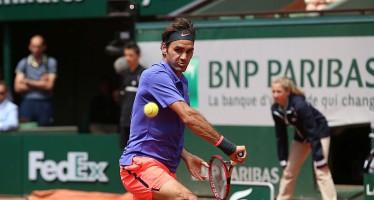 ROLAND GARROS : Roger Federer nei quarti, facile contro Monfils