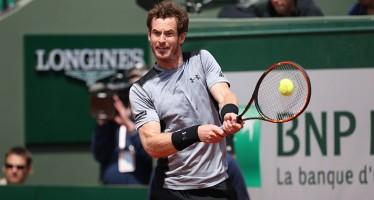ROLAND GARROS: è Andy Murray il quarto semifinalista