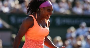 ROLAND GARROS: Serena in finale, ma che paura! Battuta con onore la Bacsinszky