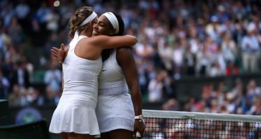 WIMBLEDON : Serena perde un set, ma la semifinale è sua