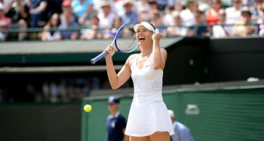 WIMBLEDON : Maria Sharapova supera Coco Vandeweghe