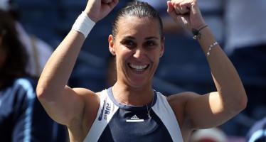 """US OPEN: immensa Flavia Pennetta, è lei la regina di New York! Annunciato a sorpresa il ritiro: """"Questo è il mio ultimo US Open"""""""