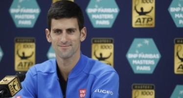 MASTERS 1000 PARIS : Djokovic n.1, subito in campo Fognini e Seppi