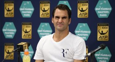 "BNP Paribas Masters Paris : Roger Federer ""Giochero' anche nel 2017"""