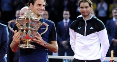 Federer e il settimo sigillo a Basilea. Nadal sulla via del ritorno