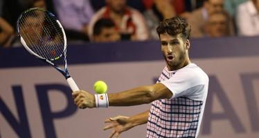ATP DUBAI : Novak Djokovic si ritira contro Feliciano Lopez.