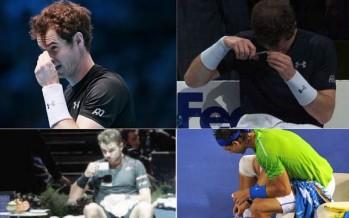 ATP FINALS : Murray si taglia i capelli al cambio di campo