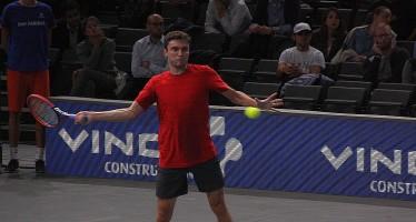 BNP Paribas Masters Paris : Gilles Simon ferma Benoit Paire