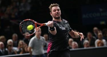 ATP FINALS :WAWRINKA SI PRENOTA PER UNA Seminfinale tutta svizzera