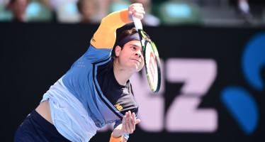 AUSTRALIAN OPEN : Milos Raonic supera Monfils, prima semifinale a Melbourne
