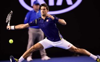AUSTRALIAN OPEN : Djokovic 5 set e 100 errori non forzati per superare Simon, bene Federer e Nishikori