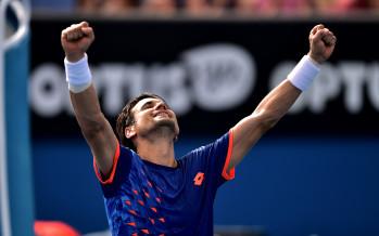 AUSTRALIAN OPEN : Ferrer batte il gigante Isner, quarti di finale