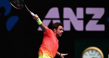 Australian Open : Wawrinka sul velluto, vittoria n.400, avanti Isner, Ferrer e Monfils