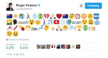 Federer rebus sull'infortunio
