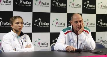 """FedCup Francia-Italia 1-1 : Corrado Barazzutti """"Siamo qui e domani e tutto aperto"""""""