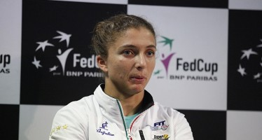 """Francia-Italia 2-1 : Sara Errani """"Ho cercato di spingere, ma non ci sono riuscita"""""""