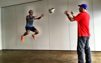 Roger Federer ritorna ad allenarsi