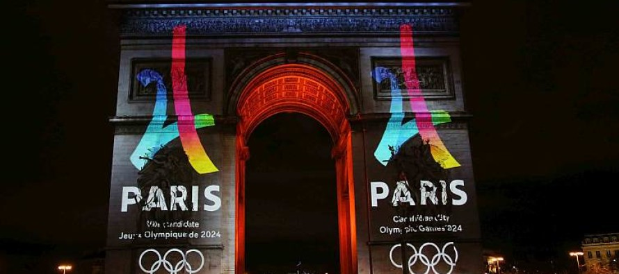 OLIMPIADI : Parigi presenta il logo per il 2024