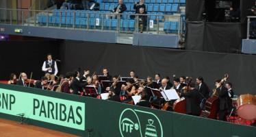 ITALIA-SVIZZERA : Rossini aspettando il tennis