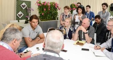 Mote-Carlo Rolex Master : Rafael Nadal ''Non sento più lo stress come lo scorso anno''