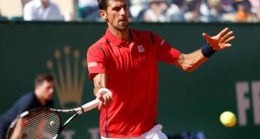 """Montecarlo ROLEX MASTERS: Novak Djokovic """"Questa è la prova che nessuno è imbattibile"""""""