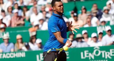 Montecarlo ROLEX MASTERS: Jo-Wilfried Tsonga si regala Roger Federer