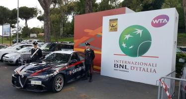 Internazionali BNL d'Italia : SERVIZI DI PREVENZIONE DEI CARABINIERI. 6 PERSONE IN MANETTE
