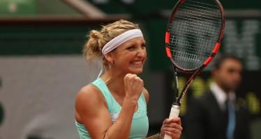 ROLAND GARROS: impresa Bacsinszky, battuta la Bouchard! Serena schiacciasassi, bene Ivanovic