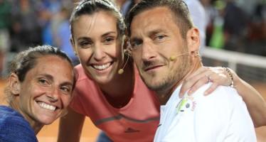 Internazionali BNL d'Italia: Totti in campo per beneficenza