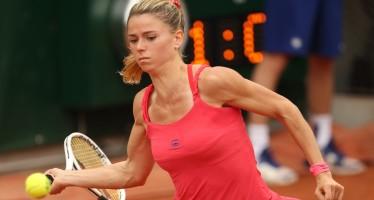 WTA PRAGA : Camila Giorgi supera la Wng ed approda ai quarti di finale