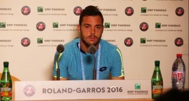 """ROLAND GARROS : Marco Cecchinato """"Non ho fortuna nei sorteggi"""""""
