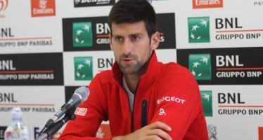 """Internazionali BNL d'Italia : Novak Djokovic """"Andy ha giocato ad un livello alto"""""""