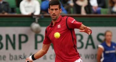 ROLAND GARROS : Djokovic tranquillo, Tsonga abbandona