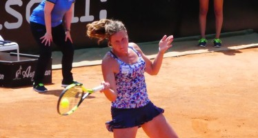 Internazionali BNL d'Italia : Karin Knapp subito fuori