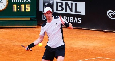 Internazionali BNL d'Italia:  Andy Murray facile contro Kukushkin