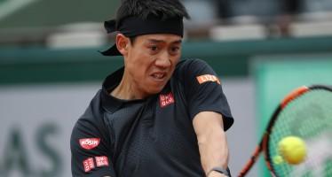 ROLAND GARROS : Nishikori facile, avanza anche Verdasco